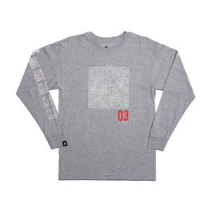 TERRAIN LS T-SHIRT [HEATHER GREY]