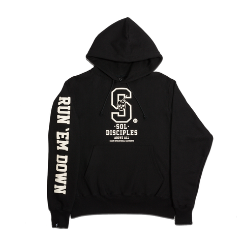 CHAMPION® COLLEGIATE HOODY [BLACK]