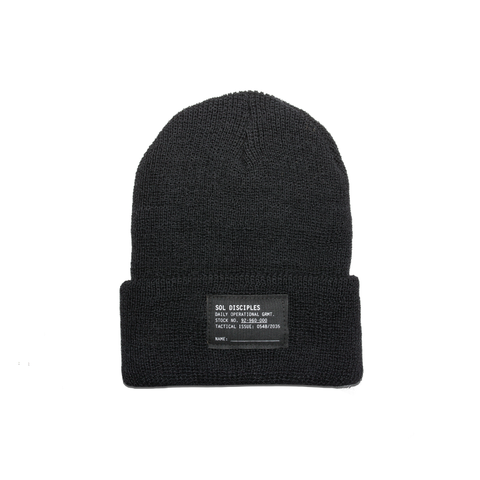 SURPLUS BEANIE [BLACK]