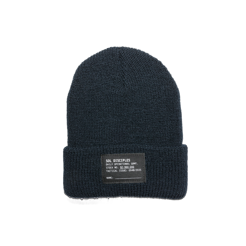 SURPLUS BEANIE [NAVY]