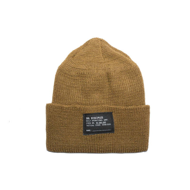SURPLUS BEANIE [COYOTE BROWN]
