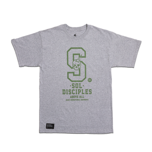 COLLEGIATE T-SHIRT [HEATHER GREY]