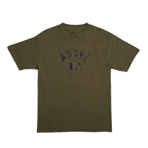 ABOVE ALL T-SHIRT [ARMY GREEN]