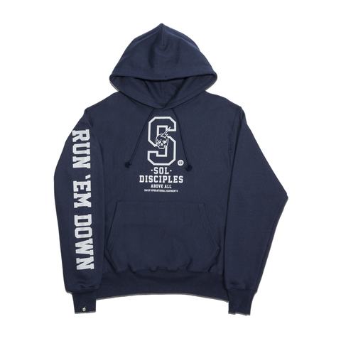CHAMPION® COLLEGIATE HOODY  [NAVY]