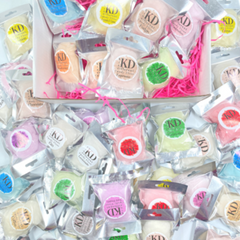 40 flavours of candyfloss