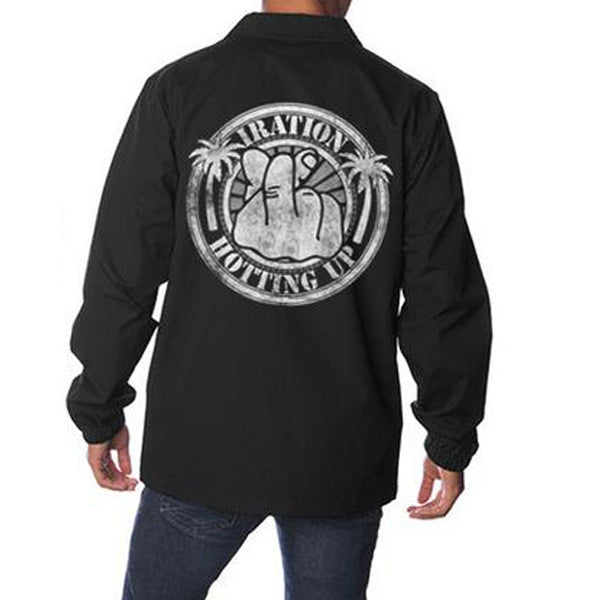 Hotting Up Windbreaker (Black)