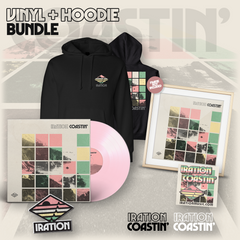 Coastin' Vinyl Bundle (Color LP) + Hoodie