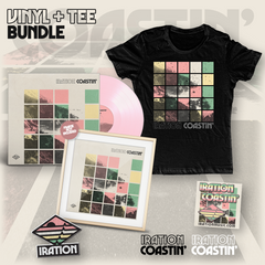Coastin' Vinyl (Pink) + Tee Bundle (Women's)