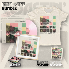 Coastin' Vinyl (Color LP) + Tee Bundle (Womens)