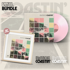 Coastin' Vinyl Bundle (Baby Pink LP)