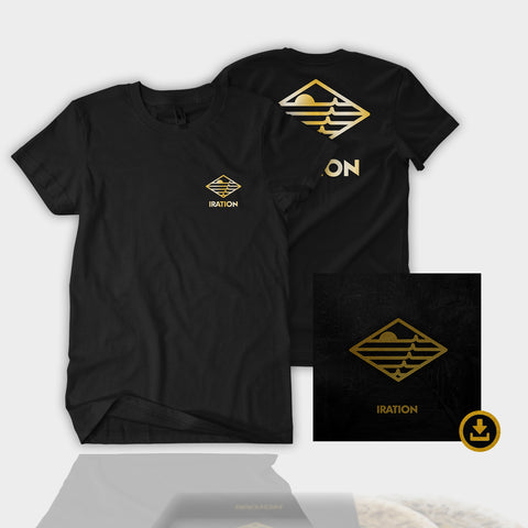 Iration 2018 | Gold Logo Tee + Album Download Bundle