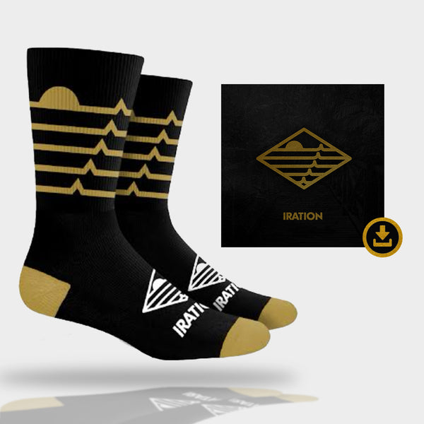 Iration 2018 | Custom Iration Socks + Album Download Bundle
