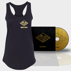 Iration 2018 | Women's Gold Logo Tank + CD Bundle