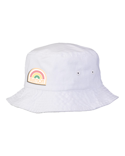Rainbow Patch Bucket Hat