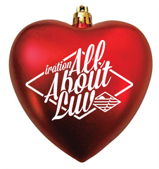 All About Luv Ornament