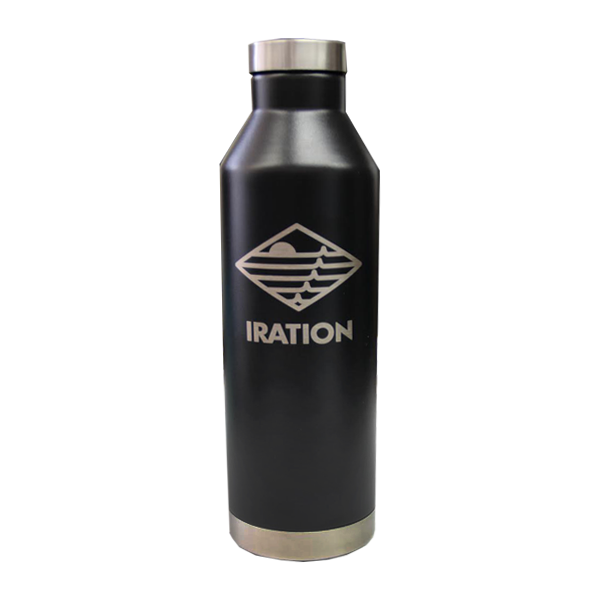 IRATION | 26 oz Insulated Wide Mouth Stainless Steel Bottle