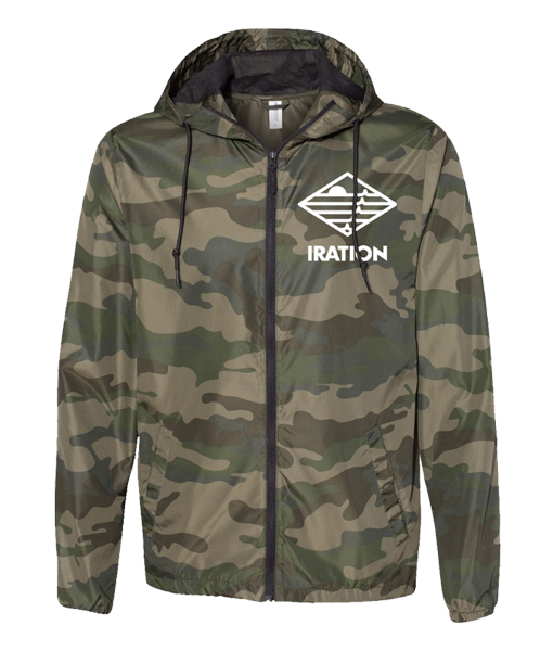 Broken Boards Camo Windbreaker