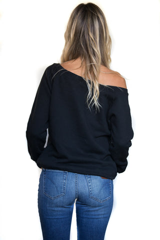 Pineskull Shoulder Sweater (Womens)
