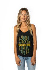 Women's Banana Leaves Tank
