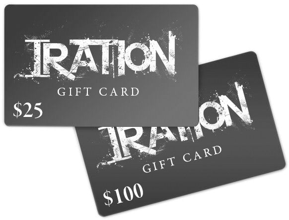 Iration Online Store Gift Card