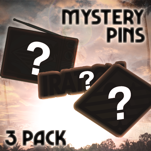 Mystery Pin 3 Pack