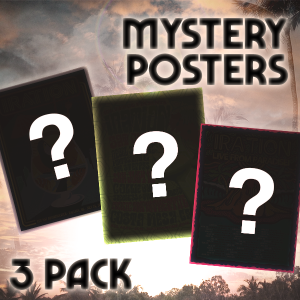 Mystery Poster 3 Pack