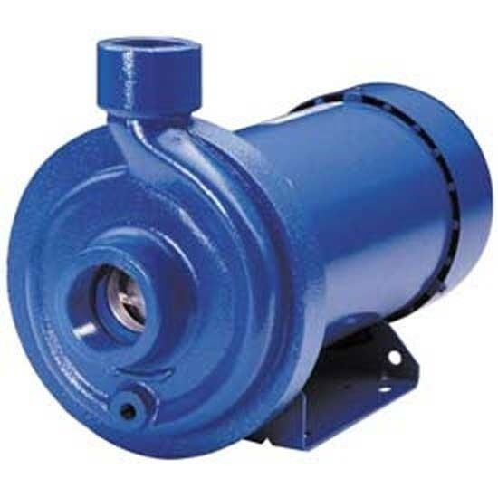"CENTRIFUGAL PUMP TEFC - 3500 RPM, 75 PSI, 115/230V, 220 GPM, 1 1/4"" In, 1"" Out"