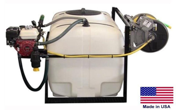 300 Gallon SKID SPRAYER - Steel - 300ft Hose - 5.5 HP - 560 PSI - 12.5 GPM - Gun