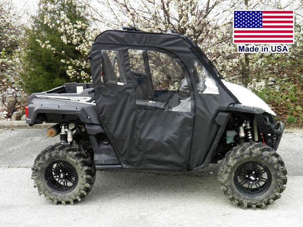 DOORS for Yamaha Wolverine - Puncture Proof - Soft Acrylic Material - Heavy Duty