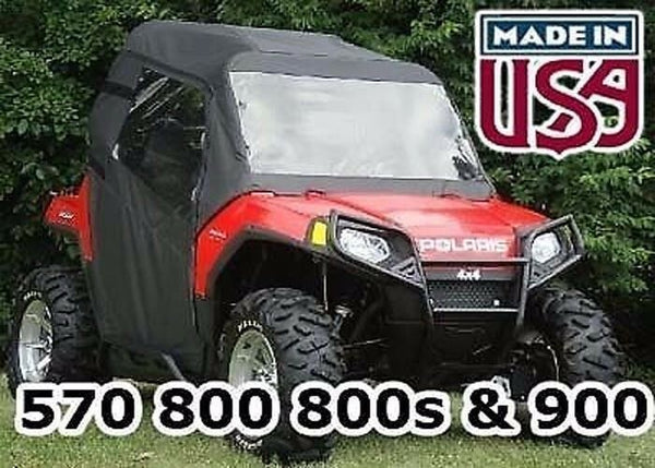 Polaris RZR Full Enclosure - HARD WINDSHIELD, DOORS, REAR WINDOW, and ROOF
