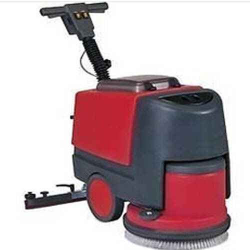 Floor Scrubber with Squeegee - 135 RPM - 24 Volt - 1000 Watts - Commercial