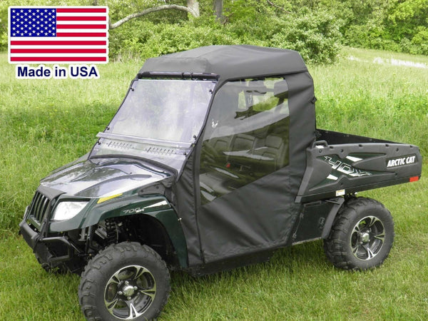 Arctic Cat Prowler Full Enclosure - Hard Windshield, Roof, Doors, Rear Window