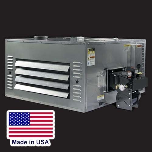 WASTE OIL HEATER - 200,000 BTU - 120 Volts - 215 Gal Tank, Stand & Exhaust Kit