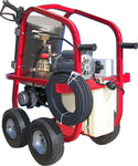 Electric Hot Water Pressure Washer - 2,200 PSI - 3.4 GPM - 220V - Direct Drive