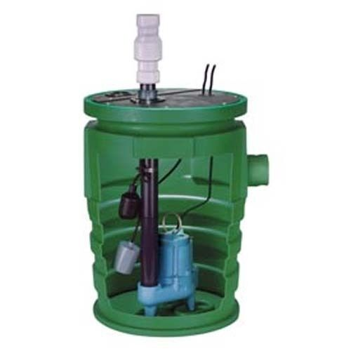 Complete Sewage Ejector System - 115 Volts - 1 Ph - 13 Amps - 4/10 HP - 80 GPM