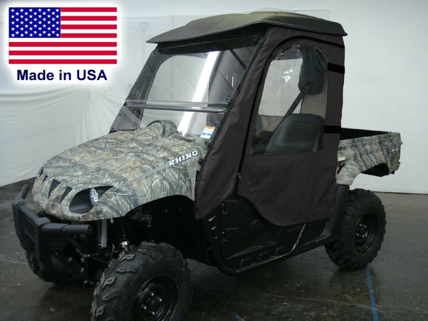 Yamaha Rhino Full Enclosure - HARD WINDSHIELD - Doors - Rear Window - Soft Top