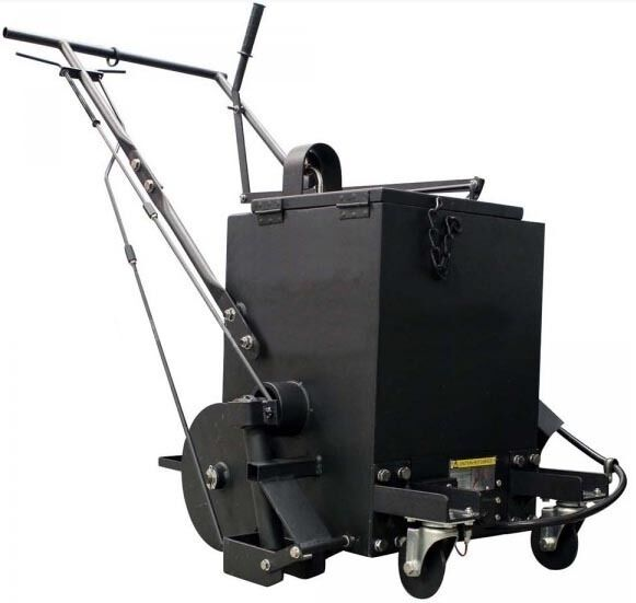 Asphalt Crack Filler Melter & Applicator Machine - 10 Gallons - 50,000 BTU