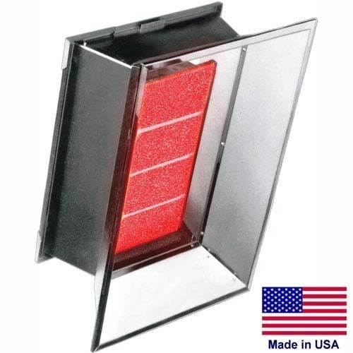 Natural Gas Infrared Heater - 35,000 BTU - 120 Volts - 1 Stage - Commercial