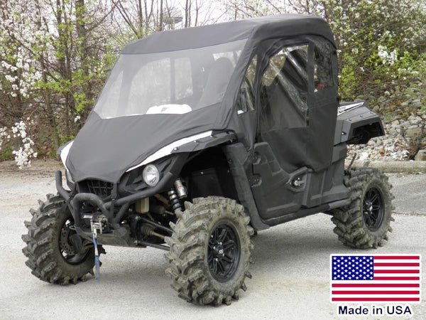 Yamaha Wolverine Full Enclosure - VINYL WINDSHIELD, Doors, Roof, and Rear Window
