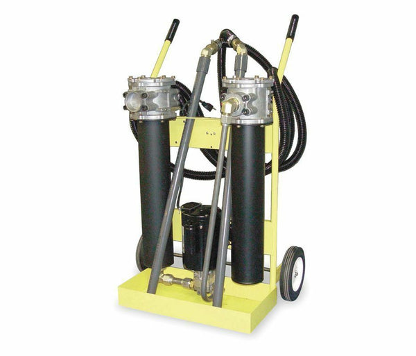 Hydraulic Filter System - 3/4 HP - 115 Volt - 10 GPM - 500 SUS Maximum Viscosity