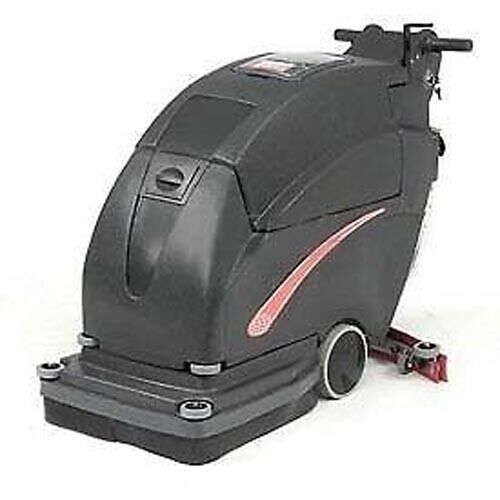 "13 Gal Auto Floor Scrubber - 200 RPM - Clean Width 20"" - Two 105 Amp Batteries"