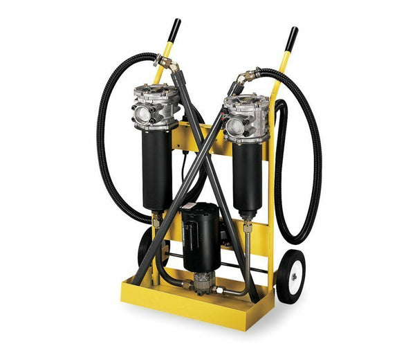 Hydraulic Filter System - 3/4 HP - 115V - 10 GPM - Includes Wands, Cart & Hoses