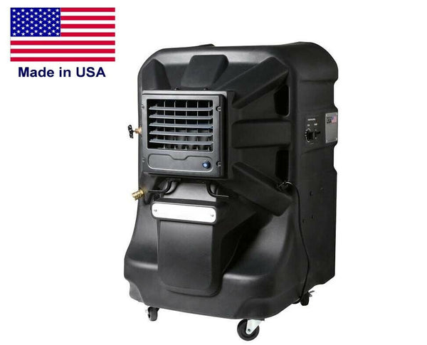 Portable Evaporative SWAMP COOLER - 2400 CFM - 700 sqft - 20 Gal Tank - 120 Volt