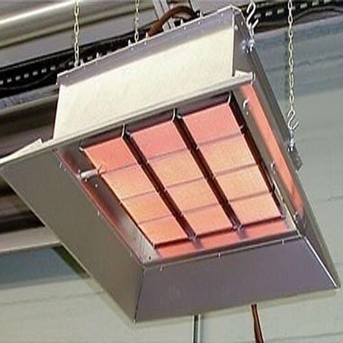 Industrial Infrared Heater - Natural Gas or Propane - 30,000 to 155,000 BTU