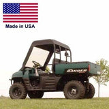 Polaris Ranger Near Bulletproof Windshield & Canopy - 2008 or Older - Heavy Duty