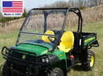 John Deere Gator TS, TX, & Turf HARD WINDSHIELD - Polycarbonate - Highway Ready