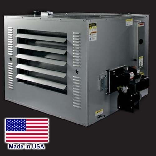 WASTE OIL HEATER - 250,000 BTU - 80 Gal Tank & Exhaust Kit - 120V - 3975 CFM