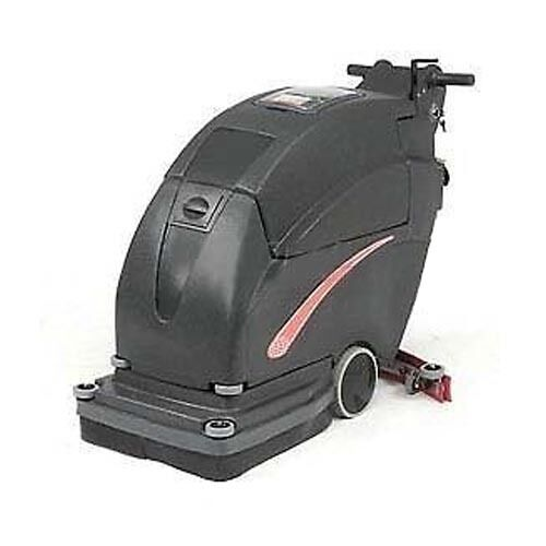 "Auto Floor Scrubber - Cleaning Width 20"" - Two 215 Amp Batteries - Commercial"