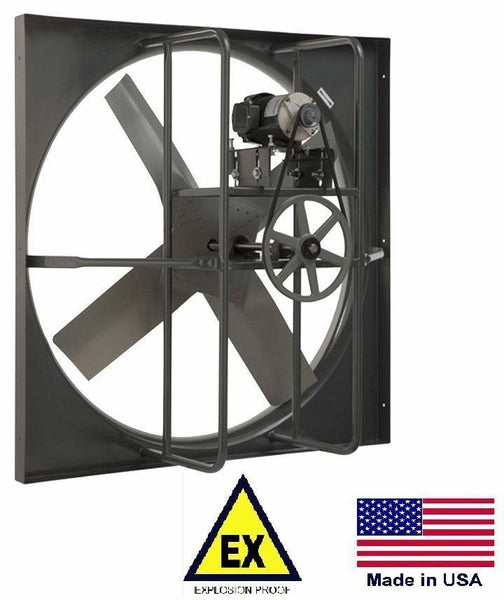 "24"" EXHAUST PANEL FAN - Explosion Proof - 115/230 Volts - 1 Phase - 4,900 CFM"
