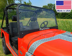 Mahindra Roxor SOLID HARD WINDSHIELD - Polycarbonate - Travels Highway Speeds